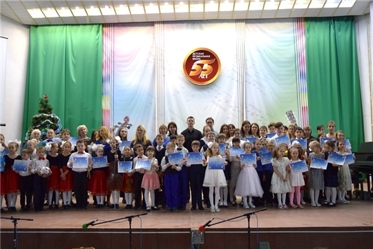В Детской музыкальной школе Новочебоксарска прошел XII Городской фестиваль «Ты и я – музыкальная семья»
