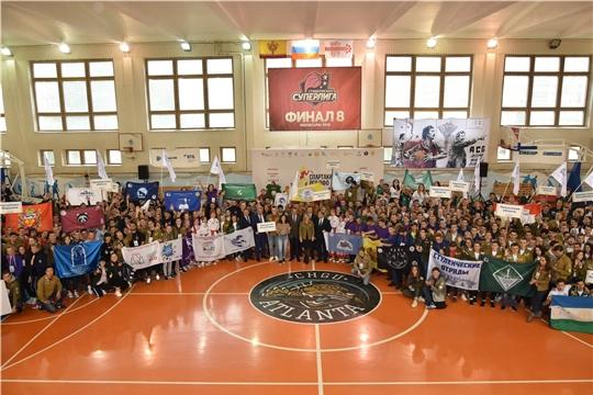 400 участников приняли участие в Спартакиаде студенческих отрядов ПФО