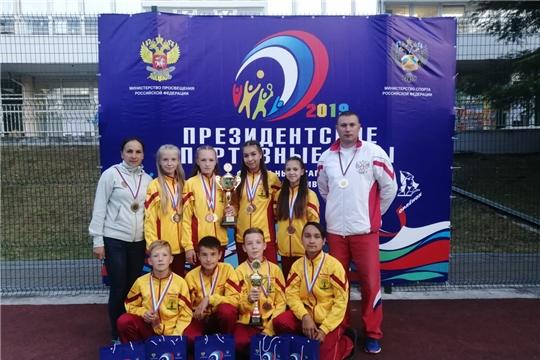 Команда Чувашской Республики – призер Всероссийских спортивных соревнований школьников «Президентские спортивные игры»