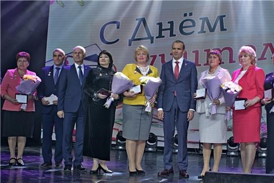 Более 10 тысяч педагогов республики приняли участие в торжественных мероприятиях, посвященных Дню учителя