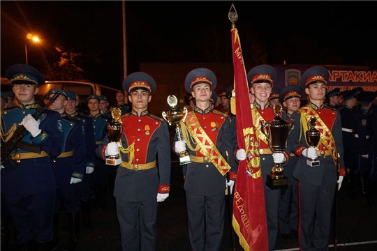 В Чебоксарах состоялось награждение участников IV Спартакиады кадетских корпусов «Кадет Приволжья»