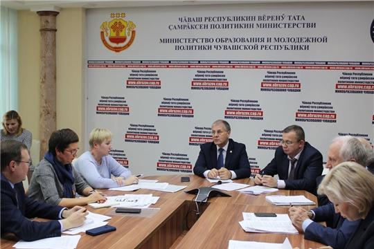 Состоялось заседание организационного комитета по проведению в республике VIII Открытого регионального чемпионата «Молодые профессионалы»