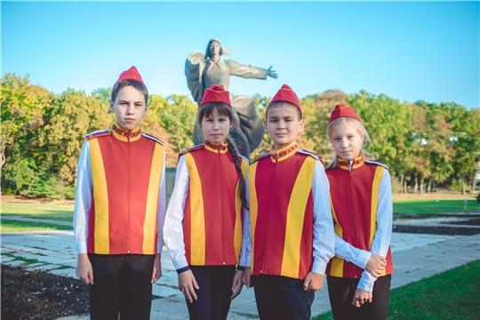 Школьники Чувашии приняли участие во Всероссийском слетеюных инспекторов движения