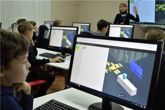 В Чувашии торжественно открыли IT-куб