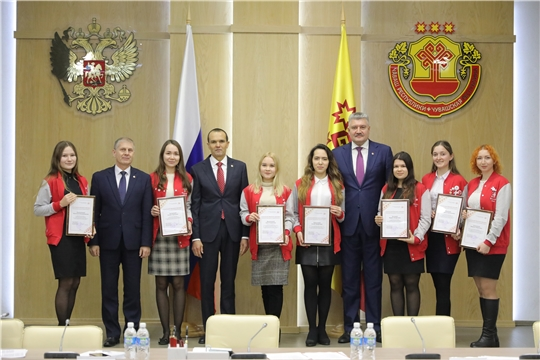 Чувашия занимает 11-е место в России по количеству волонтеров, зарегистрированных в ЕИС «Добровольцы России»