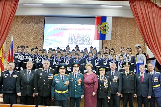 Глава администрации Порецкого района Евгений Лебедев встретился с сыном нашего земляка, флотоводца, контр-адмирала Ивана Пахомова