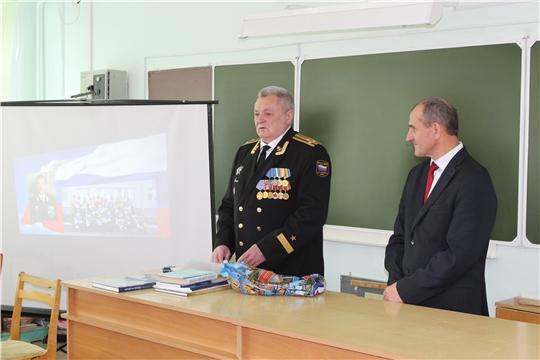 Сын прославленного флотоводца Ивана Пахомова посетил родину отца и побывал на присяге кадетов Поречья