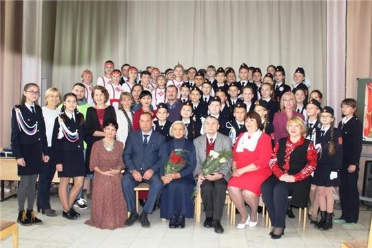 В Шемуршинской средней школе прошла встреча с народным артистом СССР Валерием Яковлевым