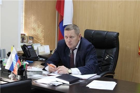 В администрации Шемуршинского района состоялась планерка