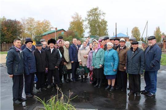В канун Дня пожилых состоялась встреча с ветеранами района
