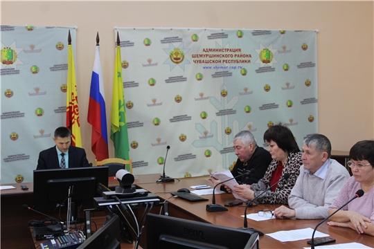 Состоялось заседание Совета по противодействию коррупции Шемуршинского района