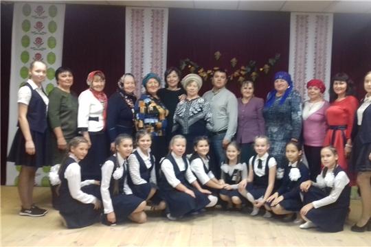 В Трехбалтаевском сельском Доме культуры провели праздничное мероприятие, посвященное Международному Дню пожилых людей