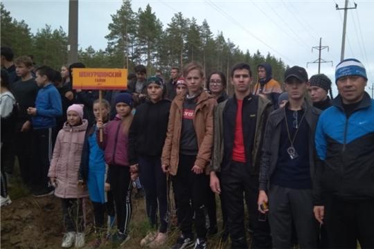 Учащиеся Карабай-Шемуршинской школы победители республиканского соревнования по спортивному ориентированию