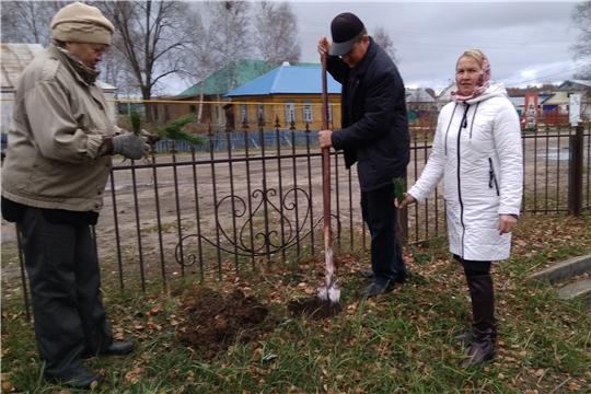 «Зеленый субботник» в  Карабай-Шемуршинском сельском поселении