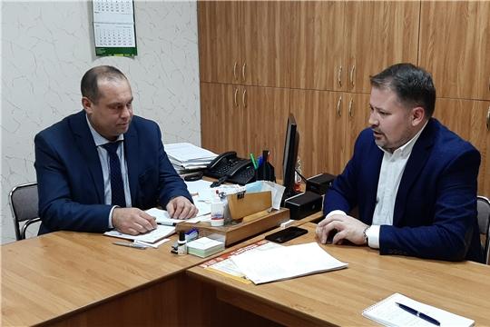 Рабочая встреча с генеральным директором - главным редактором газеты «Советская Чувашия»