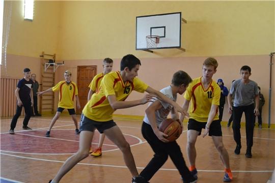 Состоялось первенство Шемуршинского района по баскетболу