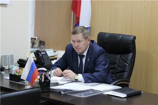 В администрации Шемуршинского района состоялось еженедельное совещание