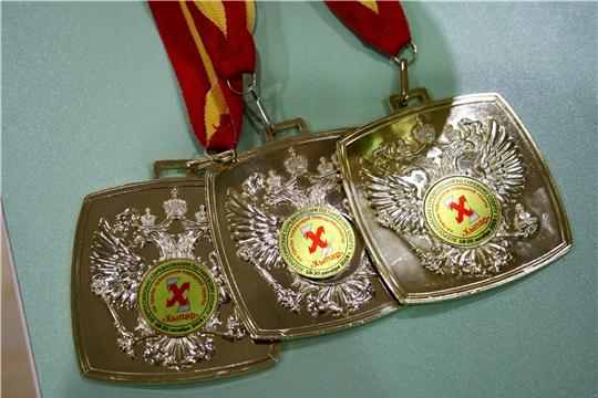 Выступление шемуршинских гиревиков на Всероссийских соревнованиях на призы газеты «Хыпар»