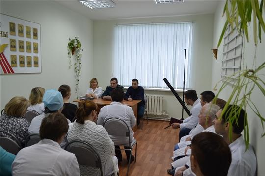 Противопожарный инструктаж в БУ «Шемуршинская районная больница»