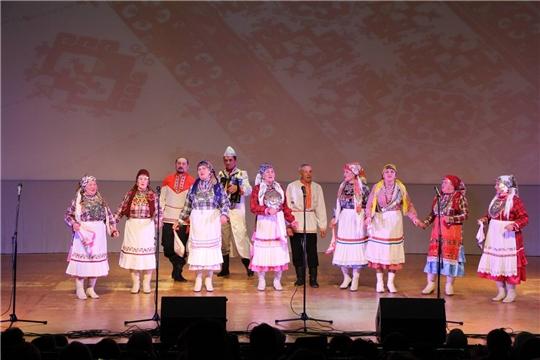 Народный фольклорный коллектив «Аххаяс» на фестивале «Легенды Симбирской земли»