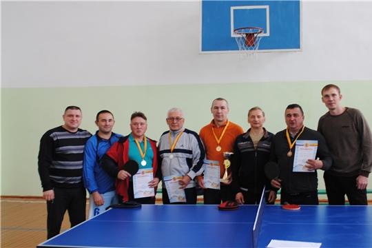 Турнир Шемуршинского района по настольному теннису в рамках Дня народного единства