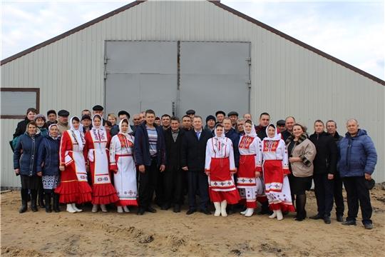 В Шемуршинском районе открылась новая животноводческая ферма