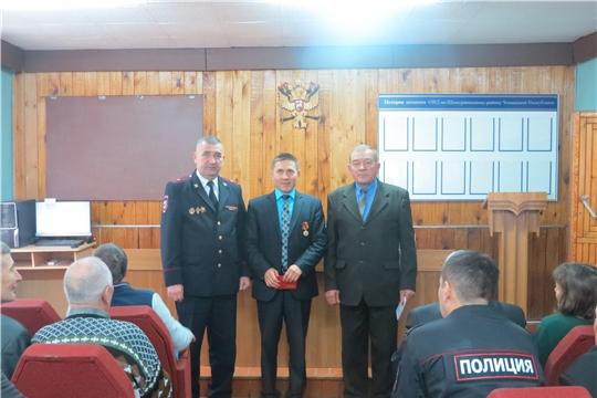 Мероприятие в честь Дня сотрудника органов внутренних дел Российской Федерации.