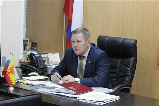 Глава администрации Шемуршинского района Владимир Денисов провел еженедельное совещание