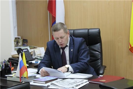 Глава администрации Шемуршинского района Владимир Денисов провел еженедельное совещание.