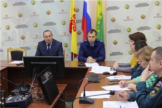 3 декабря 2019 г. в администрации Шемуршинского района состоялось заседание комиссии по чрезвычайным ситуациям