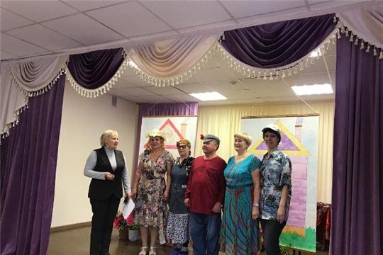 Выступление театральной студии «Премьера» в Саланчикском Доме культуры
