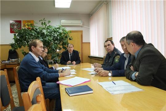 В администрации Шумерлинского района состоялось заседании Комиссии по безопасности дорожного движения.