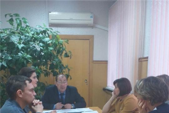 Состоялось заседание организационного комитета по подготовке к празднованию юбилея  Шумерлинского района