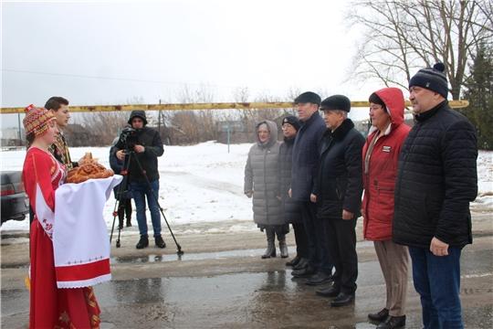 Марафон «Новогодняя Республика» в Шумерлинском районе