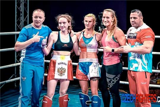 Полина Петухова выиграла мировой Гран-при по кикбоксингу в Чехии