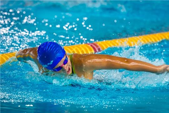 Сборная Чувашии по плаванию успешно выступает на чемпионате и первенстве Поволжья