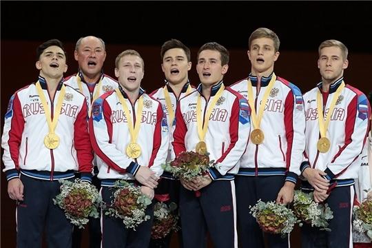 Владислав Поляшов в составе национальной сборной – чемпион мира по спортивной гимнастике