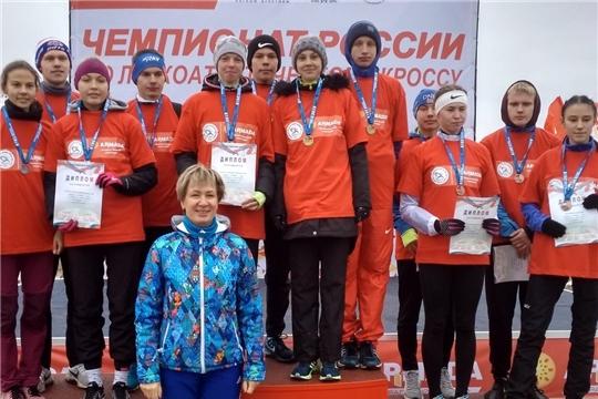 Легкоатлеты Чувашии – призёры чемпионата и первенства России по кроссу