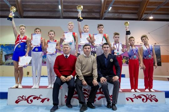 Спортивные гимнасты Чувашии вернулись с медалями первенства Поволжья