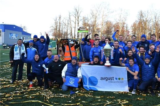 Вурнарский «Химик-Август» сохранил титул обладателя Кубка Межрегионального футбольного союза «Привольжья»