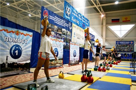 Всероссийский турнир по гиревому спорту на призы чувашской народной газеты «Хыпар»