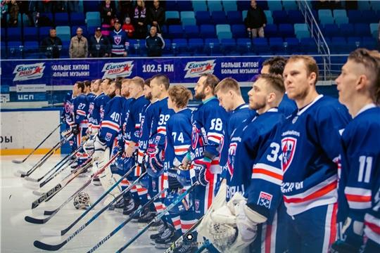 Первенство ВХЛ: хоккейная команда «Чебоксары» с победы начала трёхматчевую серию домашних игр