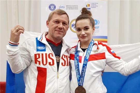 Яна Мохина – бронзовый призёр молодёжного чемпионата Европы по тяжёлой атлетике