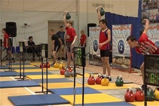 Прошли Всероссийские соревнования по гиревому спорту на призы газеты «Хыпар»