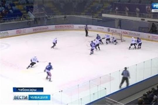 Чебоксарские «богатыри» проведут очередную встречу с барнаульскими хоккеистами
