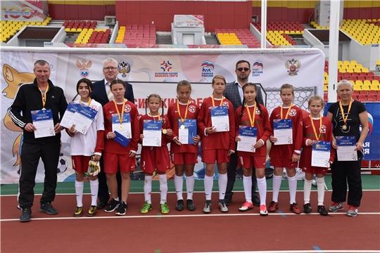 Футбольные команды Чувашии приняли участие в финале Всероссийского фестиваля детского дворового футбола