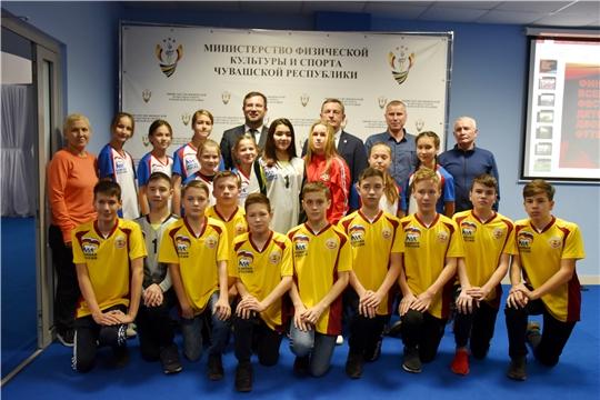 Встреча с финалистами Всероссийского фестиваля детского дворового футбола