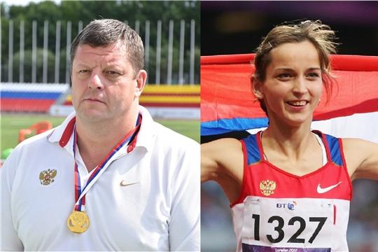 Елена Иванова и Иван Скрынник выступают на чемпионате мира по легкой атлетике среди спортсменов с ПОДА
