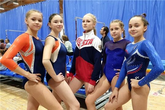 8 медалей завоевали гимнасты Чувашии на Всероссийских соревнованиях «Сурская осень»
