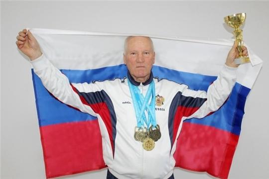 Владимир Шуряков - чемпион мира по гиревому спорту среди ветеранов